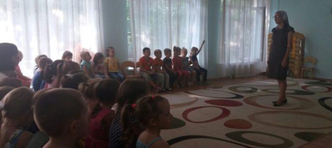Помощник настоятеля храма провела час нравственности в детском саду № 231 Октябрьского района