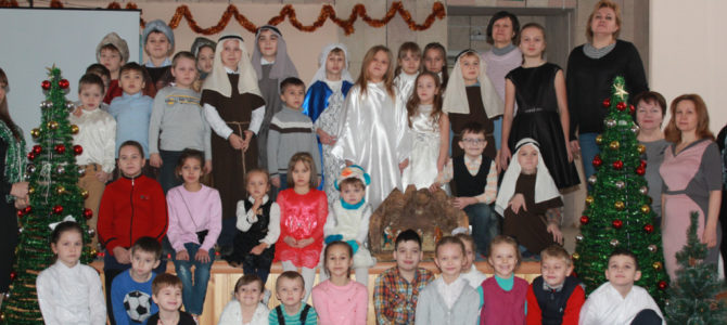 В ЦДОД Октябрьского района был показан спектакль «Дары Царю»