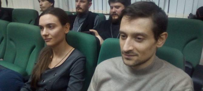 Настоятель храма и активисты приходской молодежной общины приняли участие в Сретенских молодежных встречах