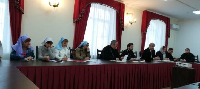 Помощник настоятеля нашего храма приняла участие в собрании организационного комитета II Съезда по социальному служению Донской митрополии