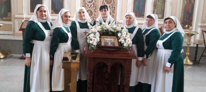 Состоялось общее говение сестёр милосердия нашего храма
