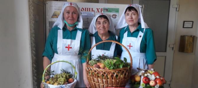 Сёстры милосердия Иоанно-Кронштадтского храма поздравили подопечных с праздником Преображения Господня